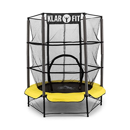 klarfit rocketkid trampolin 140cm. Black Bedroom Furniture Sets. Home Design Ideas